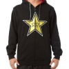 Metal Mulisha Rockstar Night Rock Bluza z Kapturem - czarna
