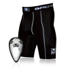 Bad Boy Defender Compression Shorts + Suspensor na Krocze