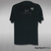 TapouT Pro Fitted for Combat Koszulka - czarna